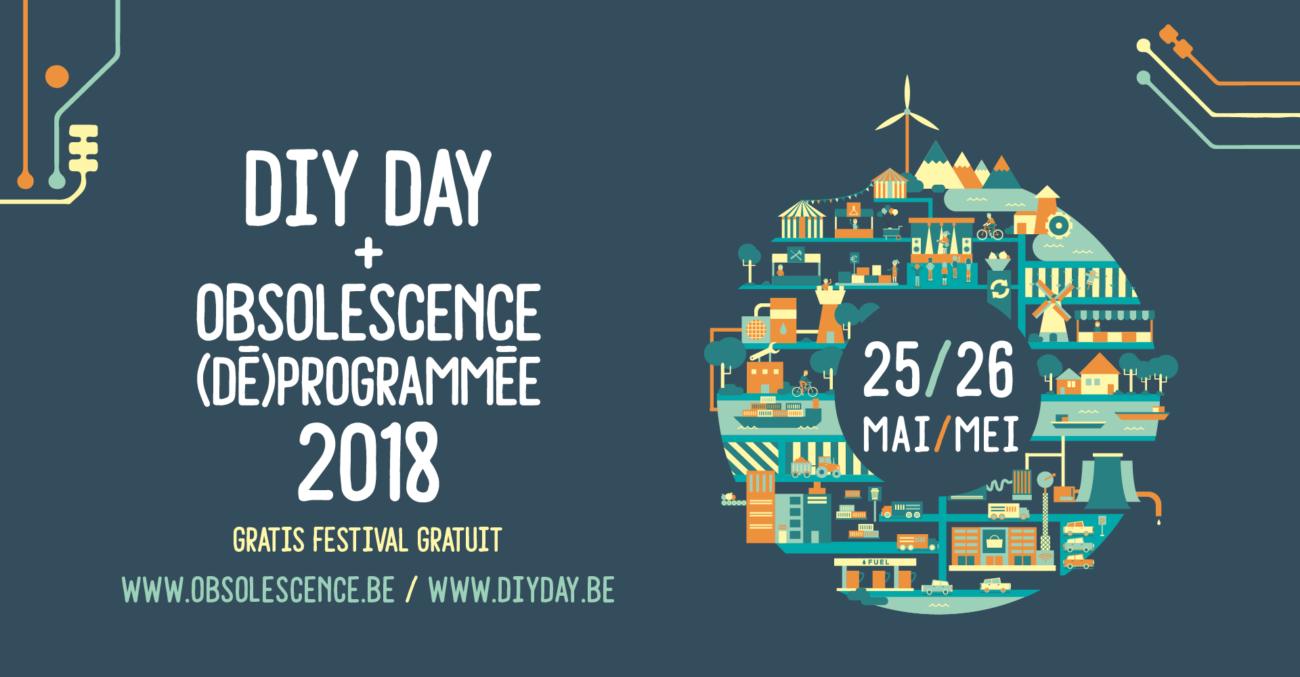 DIYDAY + Obsolescence (dé)programmée 2018