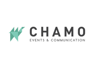 Chamo Events & Communication Logo