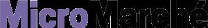 MicroMarché Logo Black